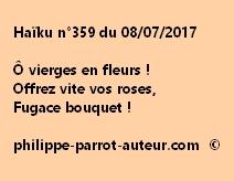 Haïku n°359 du 080717
