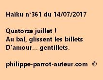 Haïku n°361 du 140717