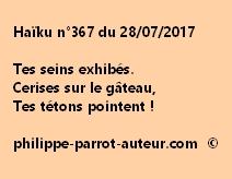 Haïku n°367 du 280717