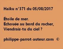 Haïku n°371 du 050817