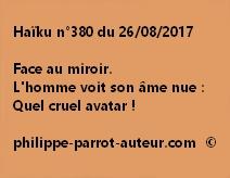 Haïku n°380 du 260817