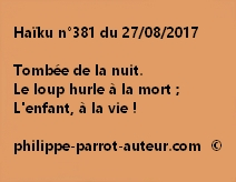 Haïku n°381 du 270817