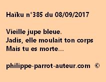 Haïku n°385 du 080917