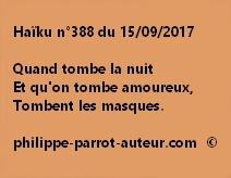 Haïku n°388 du 150917