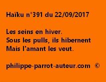 Haïku n°391 du 220917