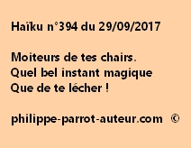 Haïku n°394 du 290917
