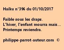 Haïku n°396 du 011017
