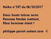 Haïku n°397 du 061017