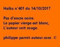 Haïku n°401 du 141017