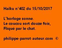 Haïku n°402 du 151017