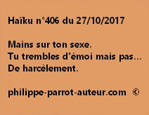 Haïku n°406 du 271017