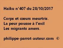 Haïku n°407 du 281017