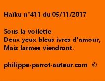 Haïku n°411 du 051117
