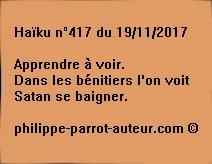 Haïku n°417 du 191117