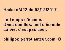 Haïku n°422 du 021217