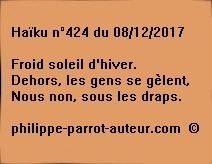 Haïku n°424 du 081217