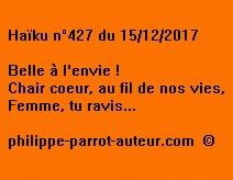 Haïku n°427 151217