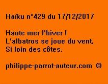 Haïku n°429 171217