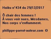 Haïku n°434 291217