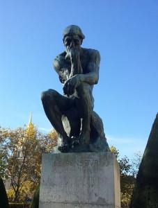 Penseur Rodin  2017 2