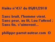 Haïku n°437 050118