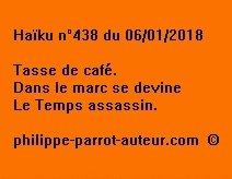Haïku n°438 060118