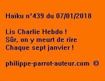 Haïku n°439 070118