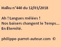 Haïku n°440 120118