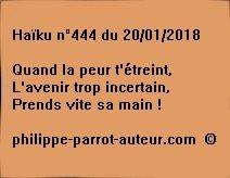 Haïku n°444 200118
