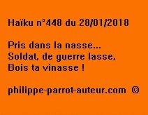 Haïku n°448  280118