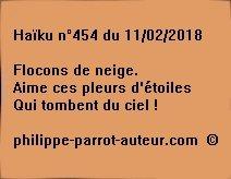 Haïku n°454  110218