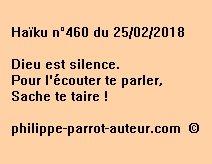 Haïku n°460  250218