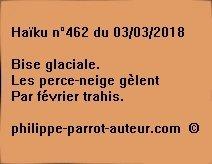 Haïku n°462  030318
