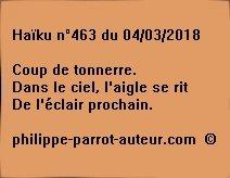 Haïku n°463  040318