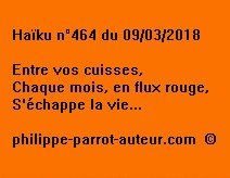 Haïku n°464 090318