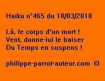 Haïku n°465 100318