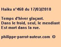 Haïku n°468  170318