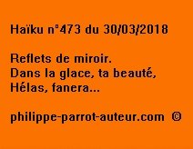 Haïku n°473 300318