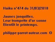 Haïku n°474  310318