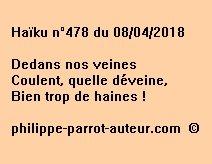 Haïku n°478  080418