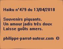 Haïku n°479  130418