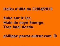 Haïku n°484  220418