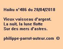 Haïku n°486  280418