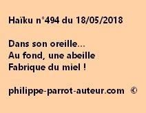 Haïku n°494  180518