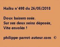 Haïku n°498  260518