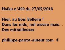 Haïku n°499  270518