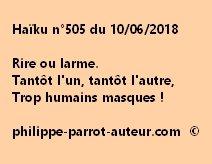 Haïku n°505  100618