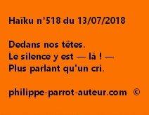 Haïku n°518  130718