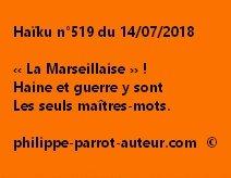 Haïku n°519  140718