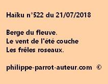 Haïku n°522  210718